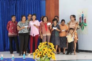 3. Paduan suara oleh Pegawai SUPM Negeri Waiheru Ambon