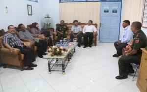 Kepala SUPM Negeri Waiheru Ambon mendapat kehormatan berdialog dengan Pangdam XVI Pattimura, Maluku beserta jajarannya