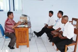Ujian lisan/komprehensif pada kegiatan ujian negara kepelautan Atkapin II