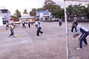 Perlombaan Futsal oleh Pegawai dan Siswa SUPM Waiheru Ambon
