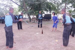 Latihan kerjasama tim