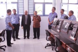 Kunjungan Wakil Menteri Pendidikan Republik Timor Leste pada Laboratorim Maritime English Simulator