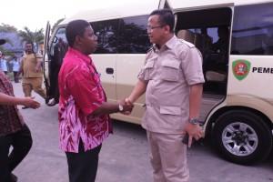 Ketua Komisi IV DPR-RI diterima langsung oleh Kepala SUPM Waiheru dan Kepala Pusat Pelatihan KP