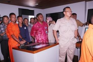 Ketua Komisi IV DPR-RI beserta rombongan mengunjungi Istalasi Simulator Navigasi dan Penangkapan Ikan