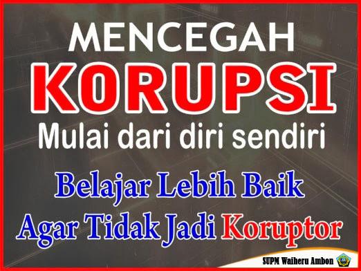 supm NO Korupsi 3